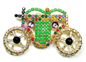 195004  Bauer Jewelled Cinderella Carriage - Product Image