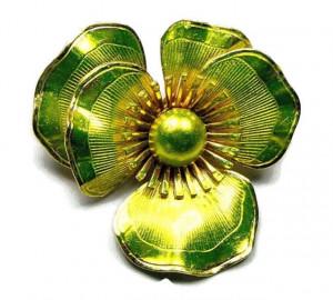 195044  Hattie Carnegie Neon Flower - Product Image