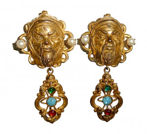 195118  Asia Inspired Ear Dangles - Product Image