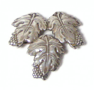 195196  Sterling Grape Leaves - Product Image