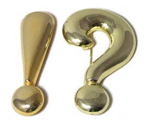 195216  REALLY?! Pair of Brooches - Product Image