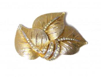 195231  Vendome Rhinestone Leaf Cluster - Product Image