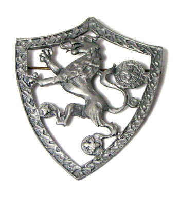 195234   Coat of Arms Brooch - Product Image