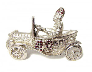 196027  Dimensional Shriner 49ers Brooch - Product Image