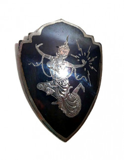 196220  Sterling Siam Pin - Product Image