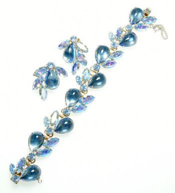 2040032  Caviness Blue Bracelet Set - Product Image