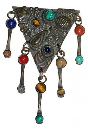 2040052  Sorrelli Semi-Precious Stone Swinger - Product Image