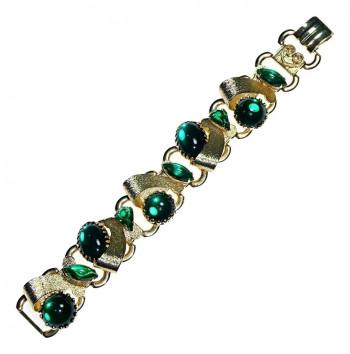 2040054  Emerald Ribbon Bracelet - Product Image
