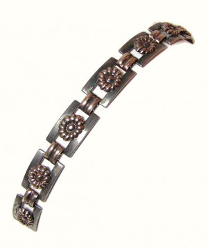 196065  Kreisler Two Toned Bracelet - Product Image