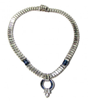 196112  Trifari Dazzling Necklace - Product Image