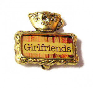 "195198  Maximal Art ""Girlfriend"" Pin - Product Image"
