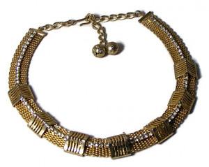 196124  Hobe Mesh & Rhinestone Collar - Product Image