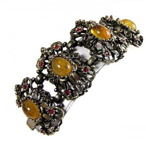 196211  Elaborate Multi-Stone Bracelet - Product Image