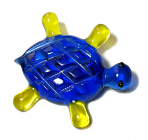 196221  Carved Lucite Turtle - Product Image