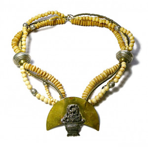 2030014  Tulla Booth Natural Stone & Metal Necklace - Product Image