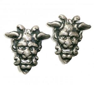 195099  Gargoyle Ear Clips - Product Image