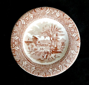 "Edge Malkin & Co ""Italy"" Plate - Product Image"