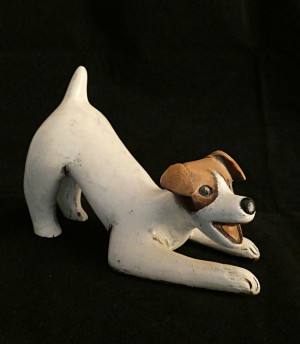 1030379  Pleet Pottery Jack Russell Figural - Product Image