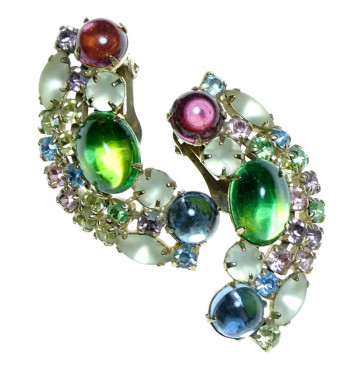 2040037  Beau Jewels Ear Clips - Product Image