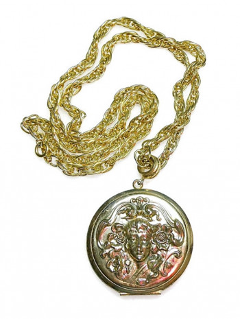 2030020  Whiting & Davis Pendant Locket - Product Image
