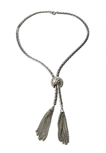 2030029  Corocraft Lariat Tassel Necklace  - Product Image