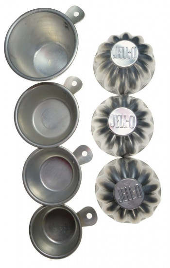 2040049  Aluminum Kitchen Measures & Molds - Product Image