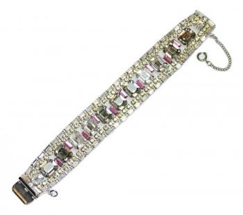 2040055  Pink & Gray Super Sparkler Bracelet - Product Image